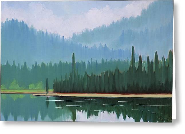 Stanley Lake - Far Shore Greeting Card