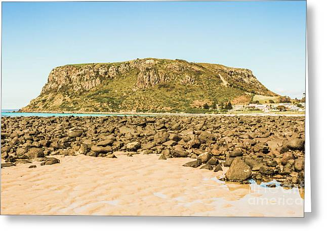 Stanley Seascape Greeting Card
