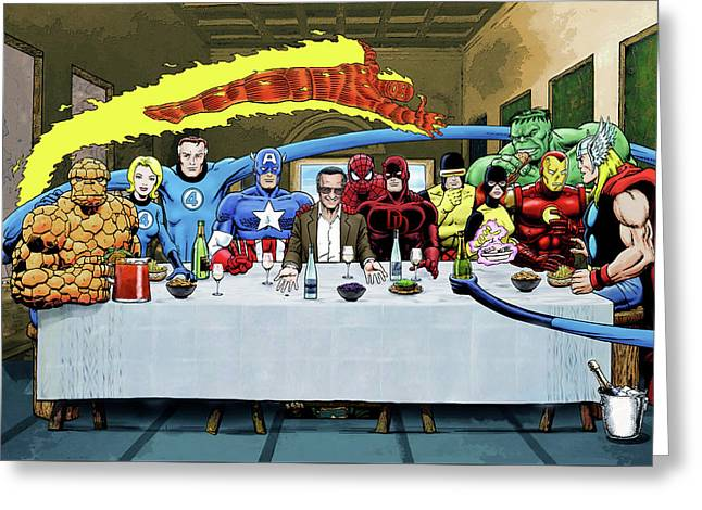 Stans Super Supper Greeting Card