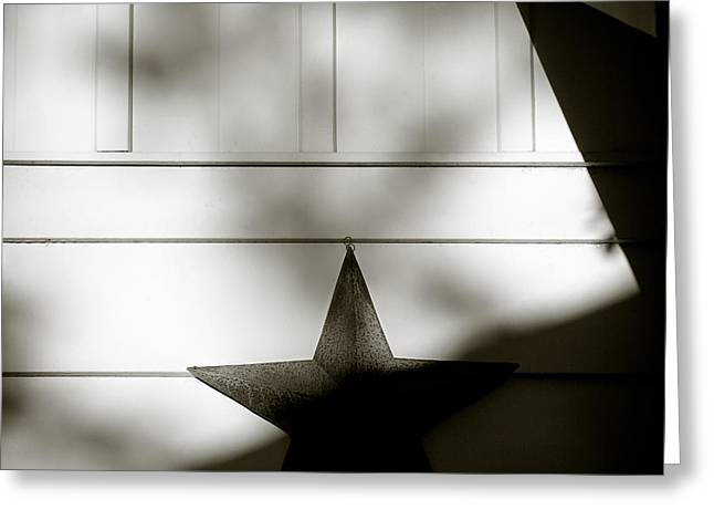 Star And Stripes Greeting Card by Dave Bowman