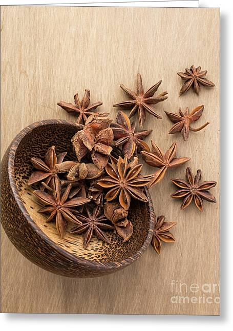 Star Anise Pods Greeting Card
