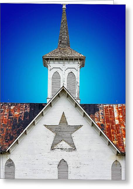 Star Barn 2 Greeting Card