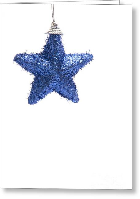 Star Bauble Greeting Card by Andy Smy