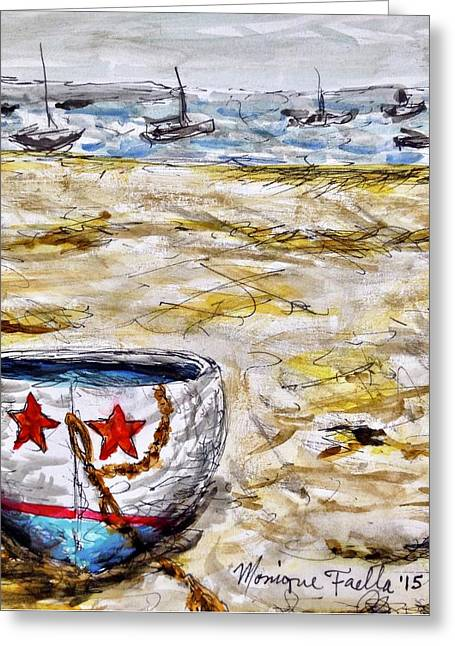 Star Boat Greeting Card