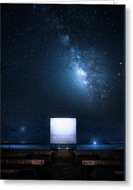 Greeting Card featuring the photograph Star Cathedral by Mark Andrew Thomas
