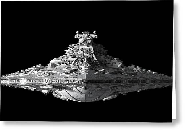 Star Destroyer-655 Greeting Card by Jovemini ART