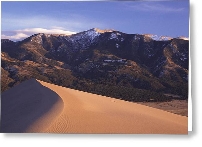Star Dune Greeting Card by Eric Foltz