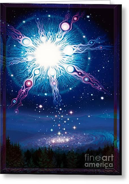 Star Matrix Greeting Card