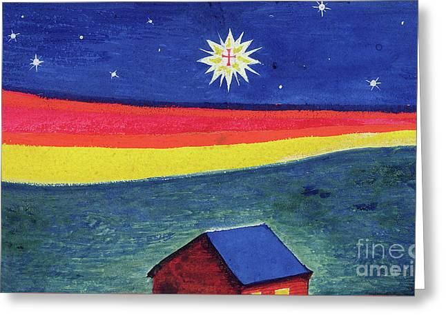 Star Of Bethlehem Greeting Card