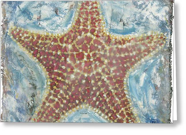 Star Of The Sea II Greeting Card by Danielle Perry