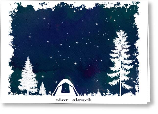 Star Struck Greeting Card by Heather Applegate