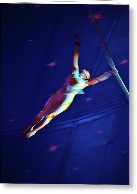 Star Swinger Greeting Card