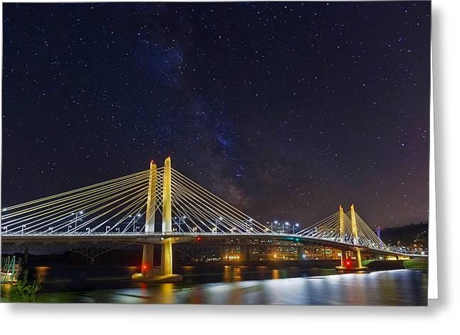 Star Trek Bridge Greeting Card by David Gn