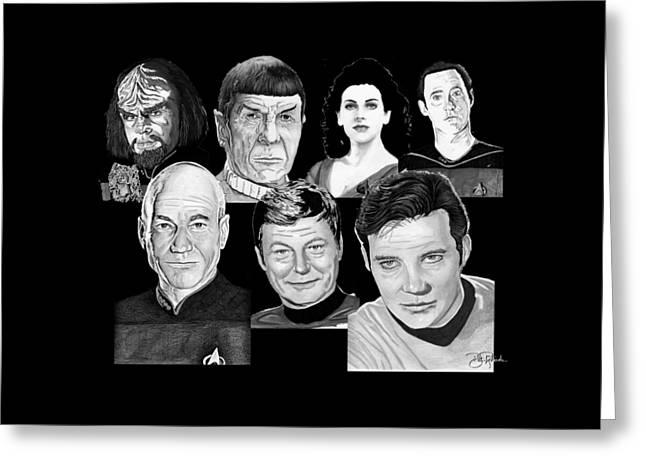 Star Trek Crew Greeting Card