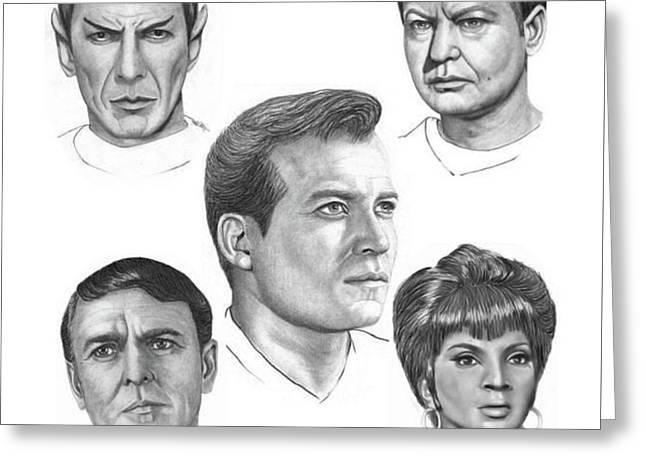 Star Trek O Greeting Card