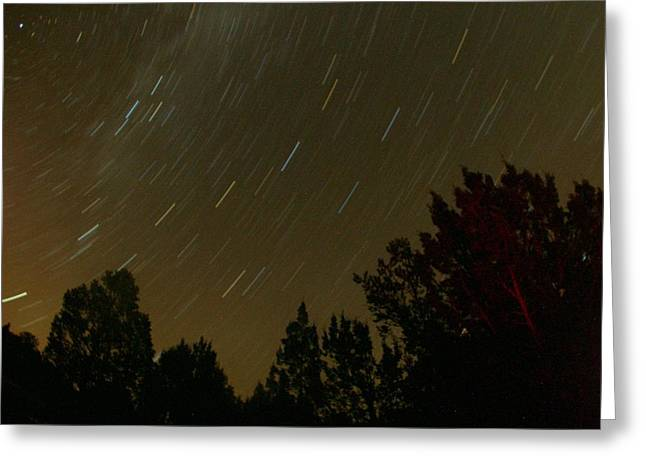 Star Tripping Greeting Card by David S Reynolds