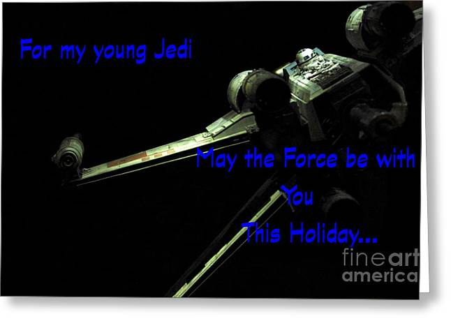 Star Wars Birthday Card 7 Greeting Card