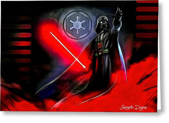 Star Wars - Come To Me Greeting Card