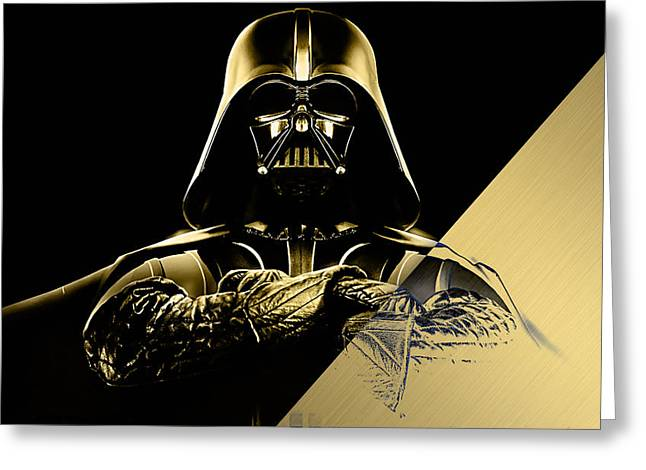 Star Wars Darth Vader Collection Greeting Card by Marvin Blaine