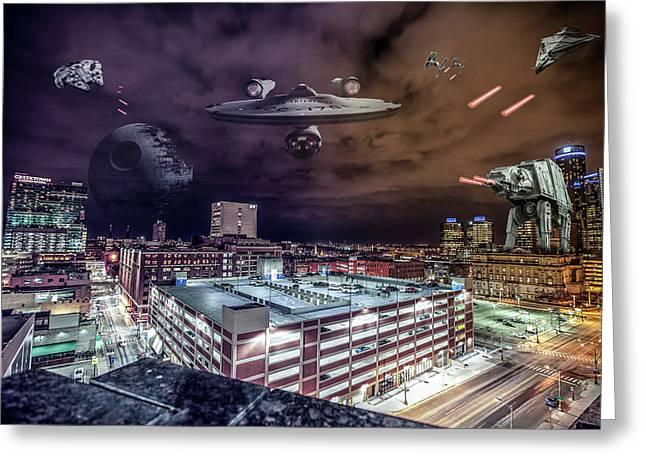 Star Wars Detroit Greeting Card