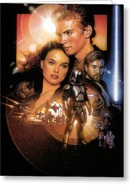 Star Wars Episode II - Attack Of The Clones 2002 Greeting Card