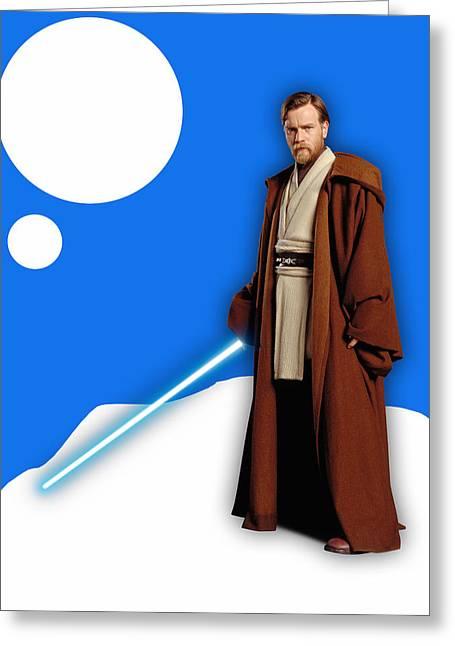 Star Wars Obi Wan Kenobi Collection Greeting Card