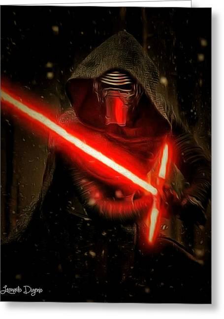 Star Wars Vii Greeting Card