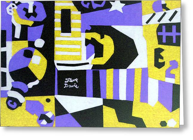 Starbrite Starlight Greeting Card by Stephen Davis