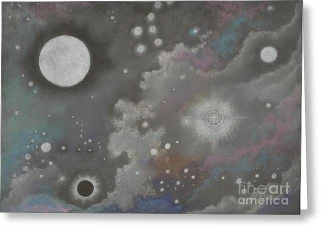 Stardust Greeting Card by Janet Hinshaw