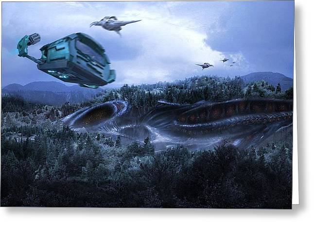 Stargate Atlantis Greeting Card