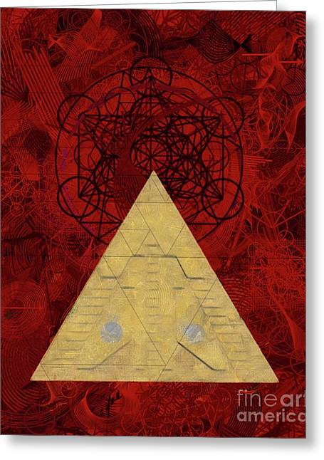 Stargate Of The Occult Greeting Card
