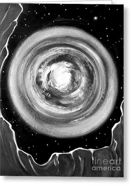 Stargaze 2 Greeting Card by Gem S Visionary