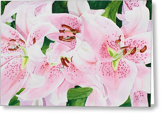 Stargazers Number 3 Greeting Card