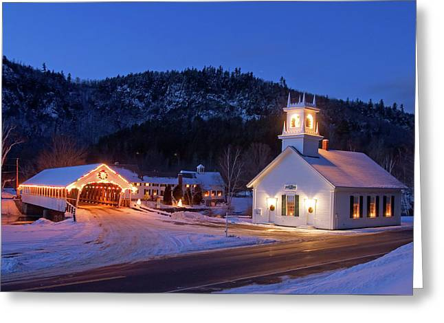 Greeting Card featuring the photograph Stark New Hampshire by Robert Clifford