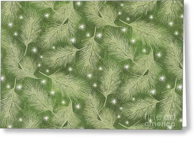 Starlight Christmas Viii Greeting Card