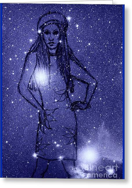 Starlight Of Space And Time 2 Greeting Card