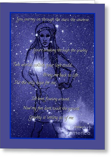 Starlight Of Space And Time 3 Greeting Card