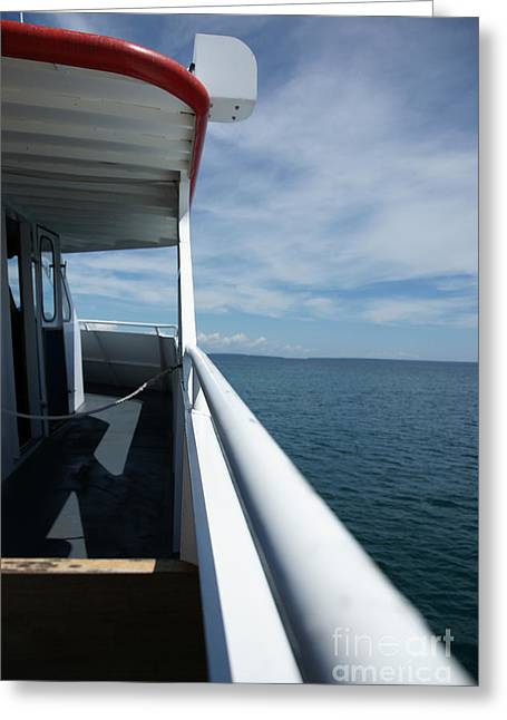 Greeting Card featuring the photograph Starline 2 by Linda Shafer