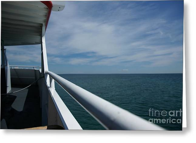 Greeting Card featuring the photograph Starline by Linda Shafer