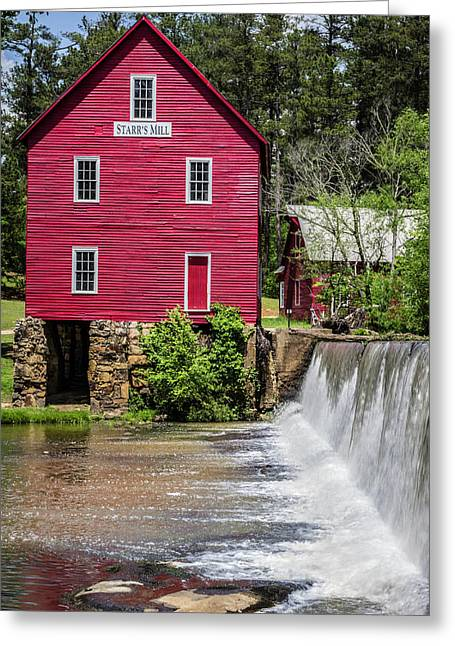 Starr's Mill 1 Greeting Card