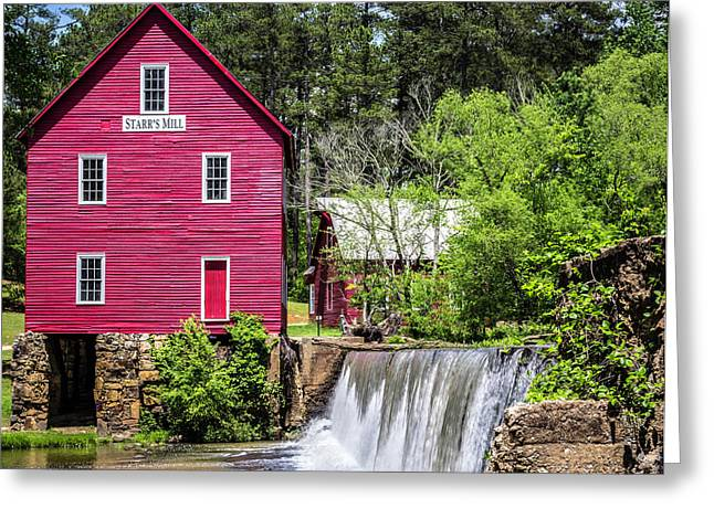 Starr's Mill 2 Greeting Card