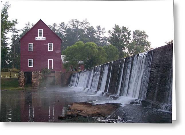Starrs Mill Ga Greeting Card by Jake Hartz