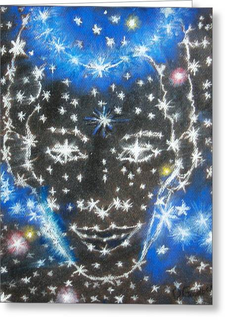Starry Eyed 2 Greeting Card
