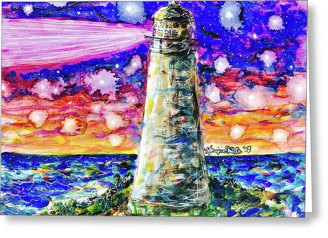 Starry Light Greeting Card