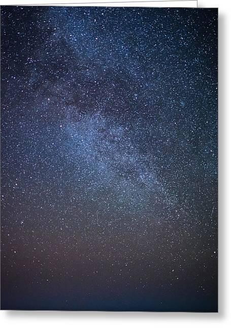 Starry Night Greeting Card by Martin Capek