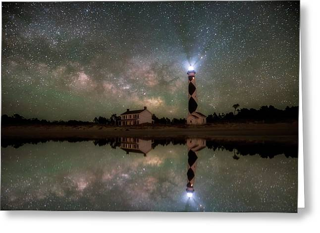 Starry Reflections Greeting Card