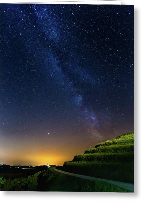 Starry Sky Above Me Greeting Card