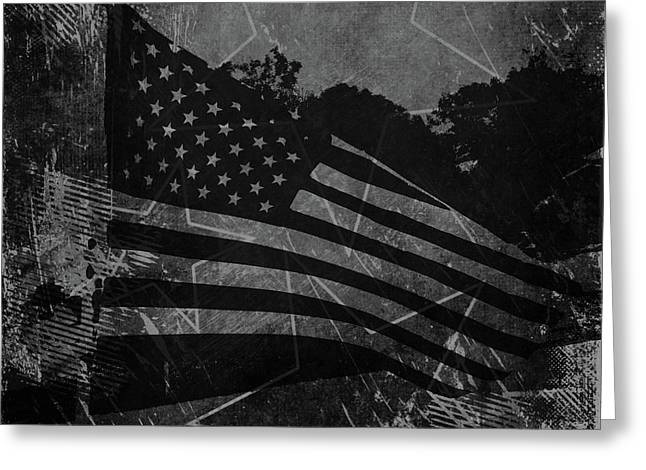 Stars And Stripes Forever Greeting Card