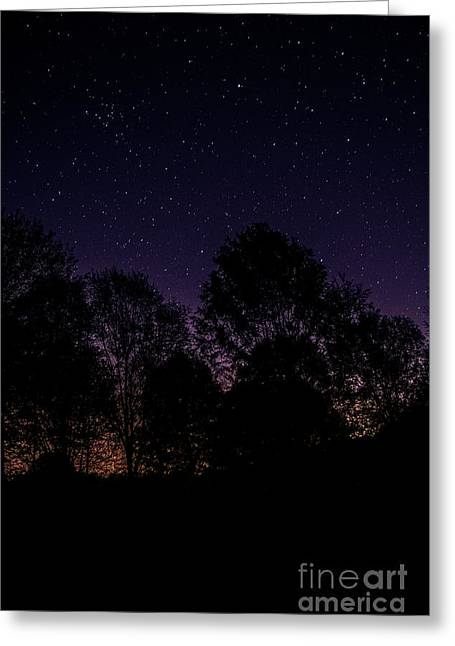 Greeting Card featuring the photograph Stars by Brian Jones