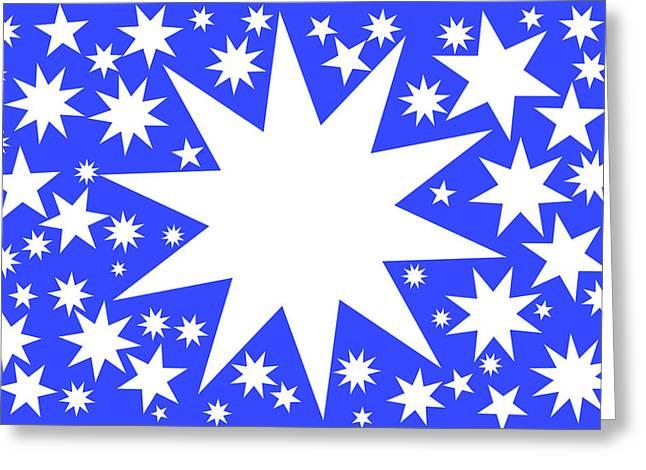 Stars No. 1-2 Greeting Card